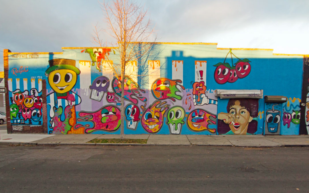 2015 – Ralph's Ices Mural Painted